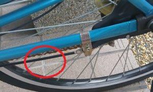 自転車でカンカン音がしたらブレーキケーブルが怪しい