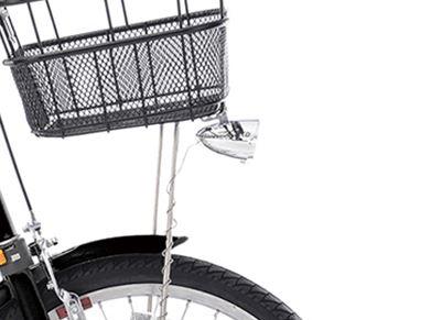 自転車ガーネット203のオートライト