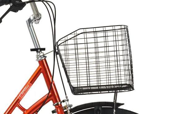 自転車CURIOUS(キュリオス)の前カゴ