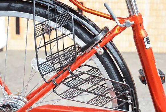 自転車CURIOUS(キュリオス)のドレスガード