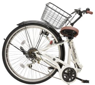 折りたたみ自転車 voldy.collection VFC-001の口コミ!パンクにも強い